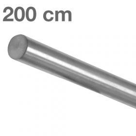 Main courante inox brossé 200 cm